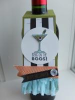 Wine bottle tag