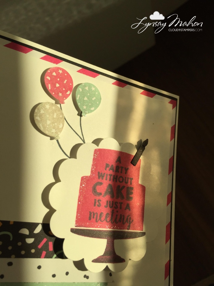 cloud 9 stampers birthday card handmade stamp craft handcraft