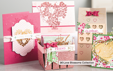 Love Blossoms Collection copyright Stampin' Up!
